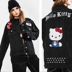 Hello Kitty black denim jacket